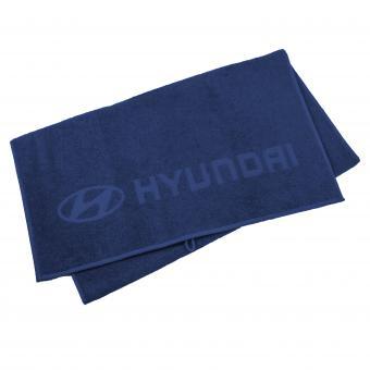 Hyundai Badetuch blau