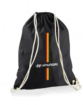 Sportbeutel  mit Deutschland & Hyundai Branding