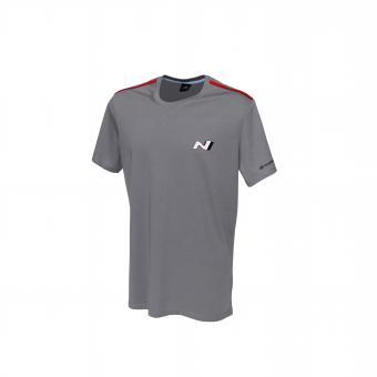 N T-Shirt Men grau