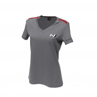 N T-Shirt Women grau