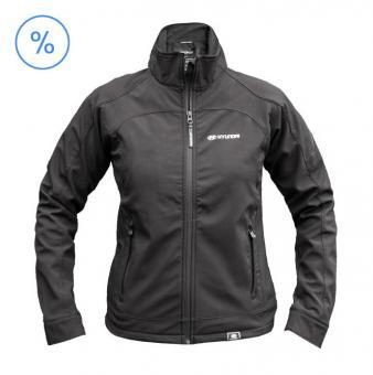 Hyundai Softshell Jacke Damen schwarz