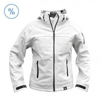 Hyundai Softshell Jacke Damen weiß